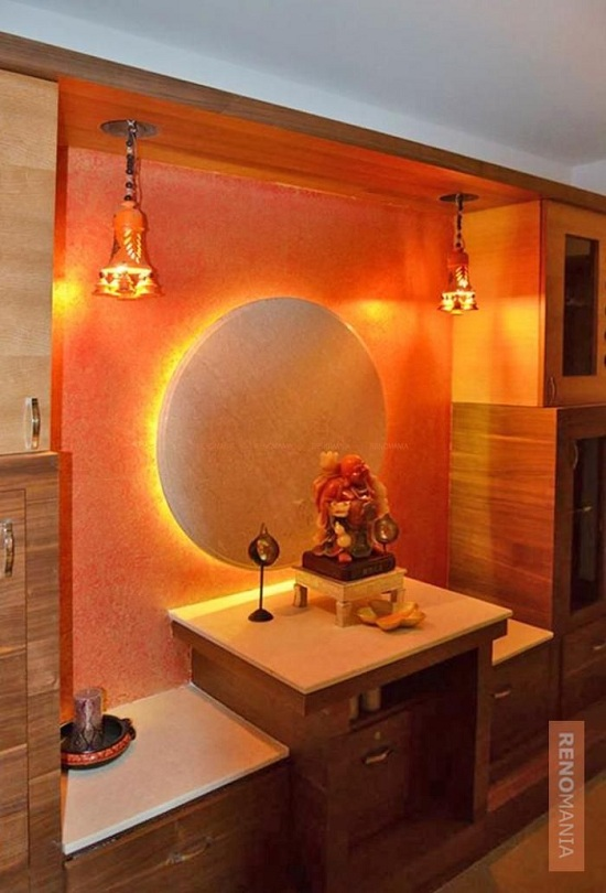 10 Latest Pooja Room Colour Ideas With Pictures In Ind