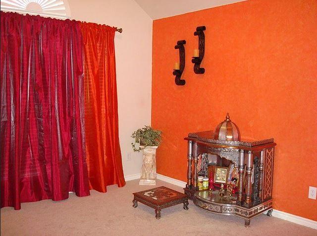Pooja Room Color Ideas (mit Bilder