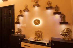 Pooja Room Color Ideas | Pooja rooms, Pooja room door design, Home .
