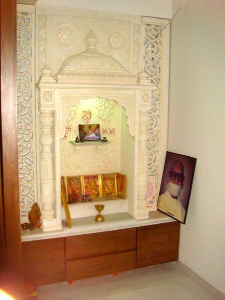 Pooja Room Designs In   Apartments