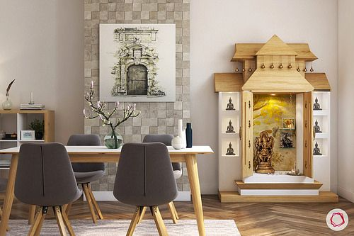 11 Small Pooja Room Designs (With Dimensions) For Your Home .