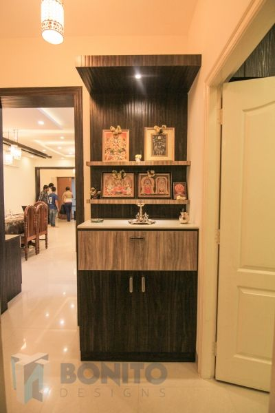Puja room in apartments - Google Search (With images) | Pooja room .