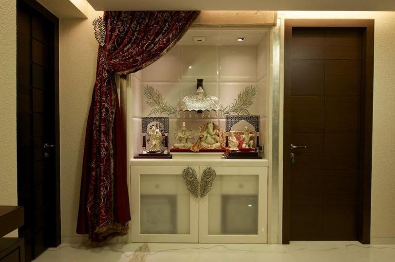 Pooja Room Designs in Hall | Puja room, Pooja room design, Pooja roo