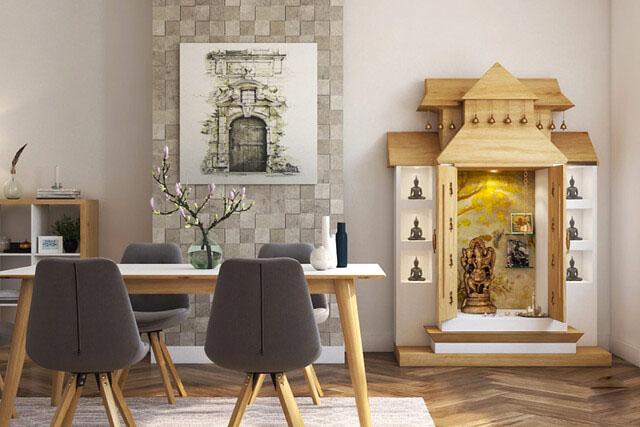 10 Puja Room Ideas for Your Apartment Spaces – Allegra Desig