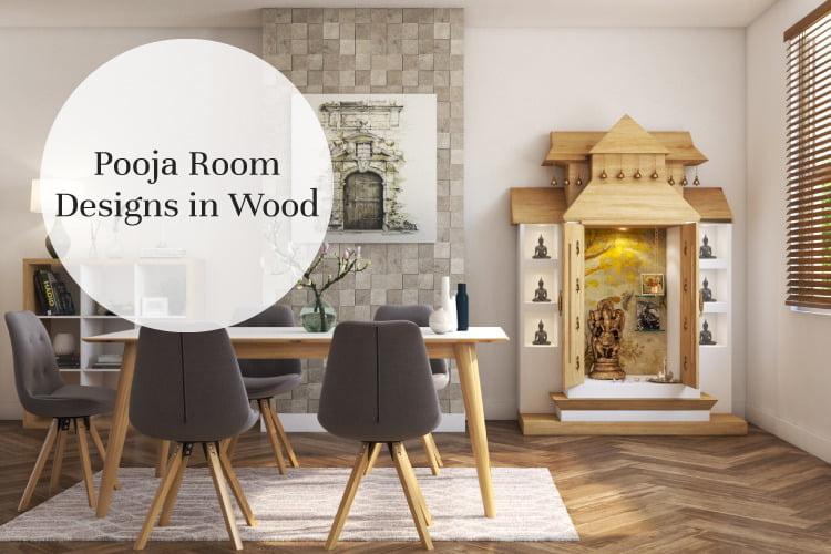 Made of Wood: Inspiring Pooja Rooms for Your Ho