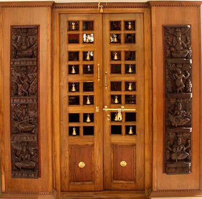 Latest Pooja Room Door Frame And Door Design Gallery | Pooja room .