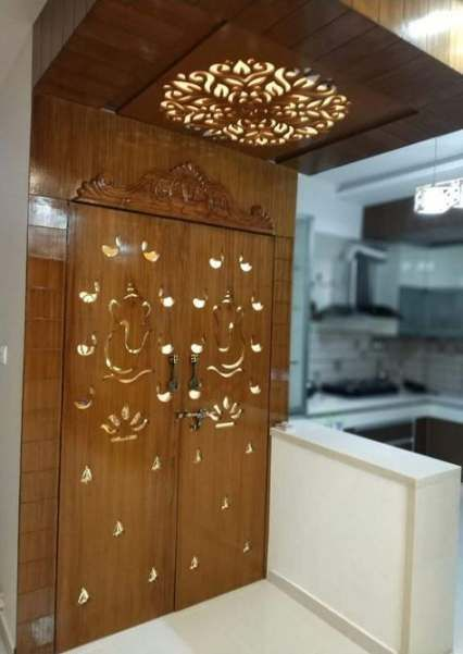 33+ Ideas Pooja Room Door Design House (With images) | Pooja room .