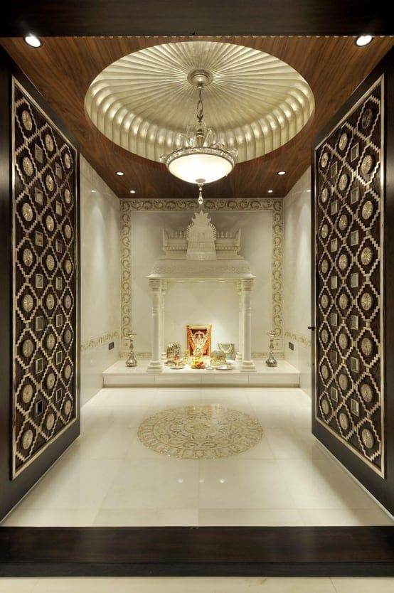 7 Inspiring pooja room designs (With images) | Pooja room door .