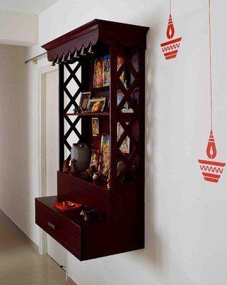 Best 5 pooja room designs for Indian homes | Room door design .