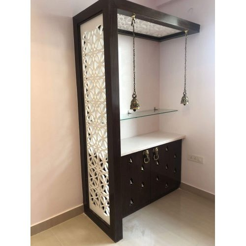 Wooden Pooja Shelf, For Home, Rs 1300 /square feet Paresh Design .