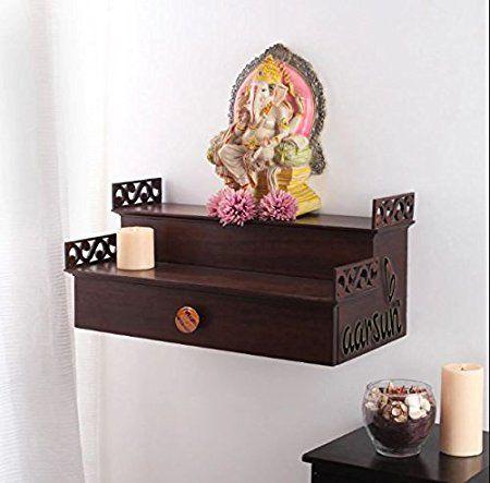 Pooja Shelf Designs | Pooja room design, Pooja room door design .