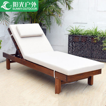 Outdoor Wood Furniture Swimming Pool Sex Lounge Chair, View pool .