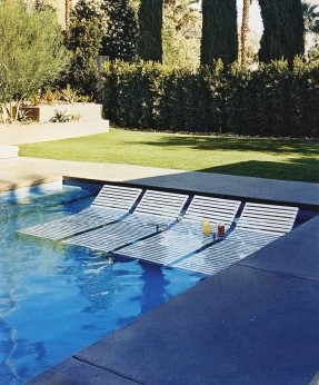 50+ In Water Pool Lounge Chairs You'll Love in 2020 - Visual Hu