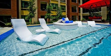 Tanning ledge pool chair (With images) | Tanning ledge pool, Pool .
