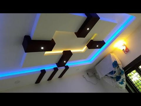 P O P Ceiling Designs | Gypsum board ceiling designs - YouTu