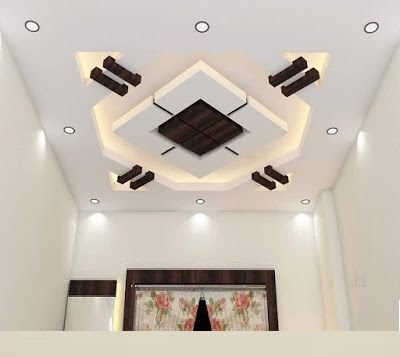 45 Modern false ceiling designs for living room - POP wall design .