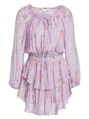 LoveShackFancy - Silk Popover Dress - saks.c