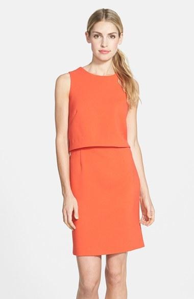 Eliza J Crepe Popover Dress, $138 | Nordstrom | Lookastic.c