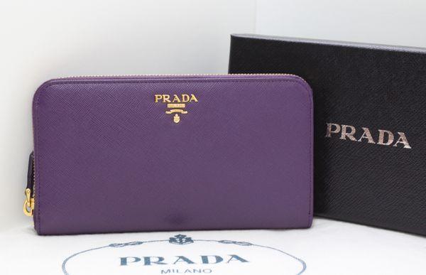 Violet Wallets   prada-wallet-purple.jpg (With images)   Prada .