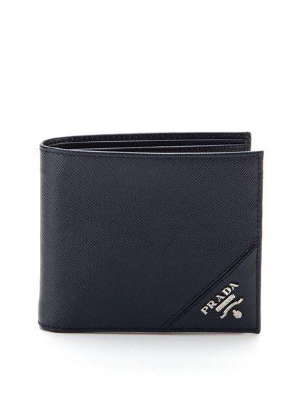 Saffiano Leather Bifold Wallet by Prada on Gilt.com | Cüzdan, Stil .