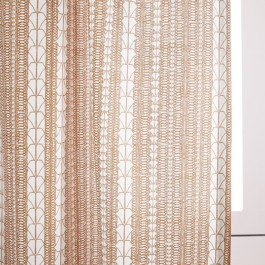 Echo Print Curtains (Set of 2) - Gold Dust (With images) | Printed .