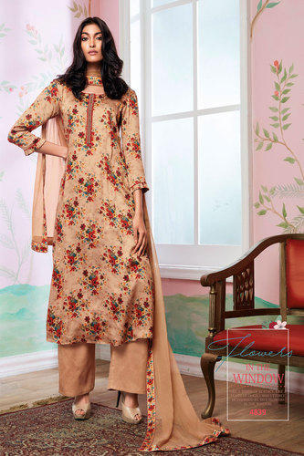 Natural Silk Printed Salwar Suit at Rs 1691/piece | Printed Salwar .