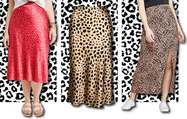 The Leopard-Print Midi Skirt Is the Summer Trend That Won't Die .