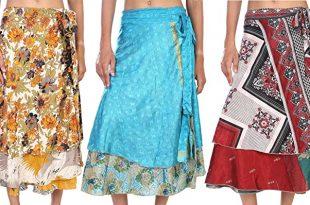 Indian Wrap Midi Wrap Skirt Wholesale Magic Wrap Womens Printed .