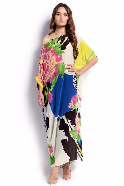 fashionjeet » Blog Archive » Sana Safinaz winter wear silk printed .