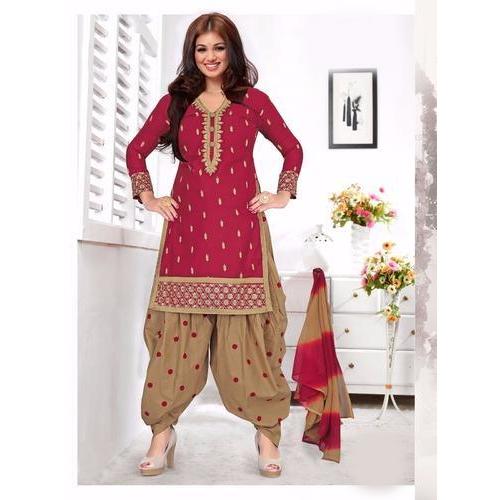 Punjabi Salwar Suit, Punjabi Ladies Suit, Punjabi Phulkari Suit .