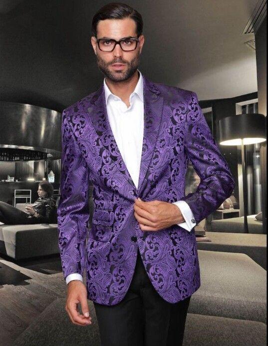 Purple tuxedo jacket | Purple suits, Sports blazer, Purple blaze