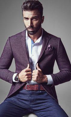 12 Best Purple Blazers images | Purple blazers, Mens outfits, Menswe