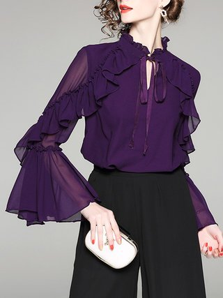 Purple Blouses