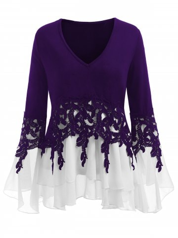 Purple blouses – ChoosMeinSty