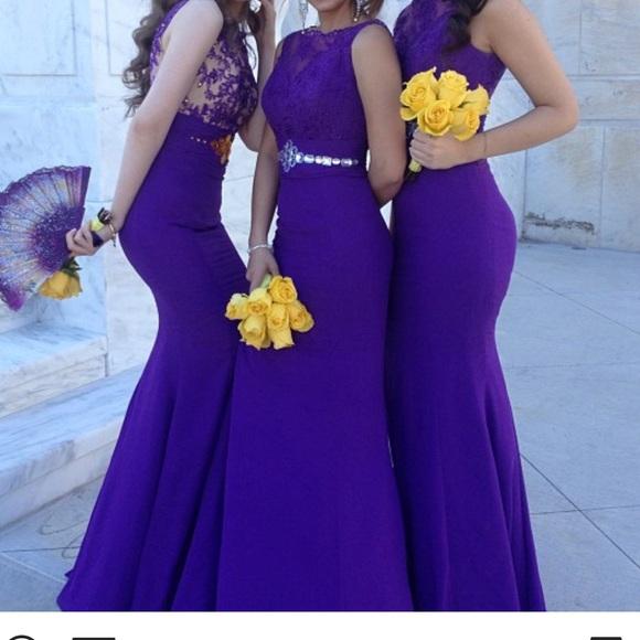 Dresses | Purple Dress | Poshma