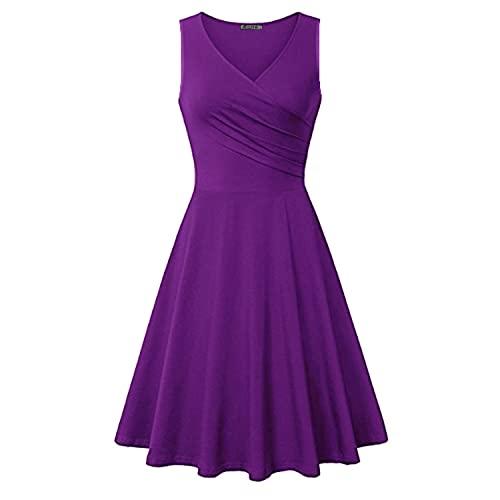 Purple Summer Dresses: Amazon.c