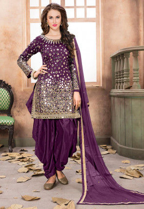Page 3 | Purple Festival Salwar Suits for Women: Buy Latest .