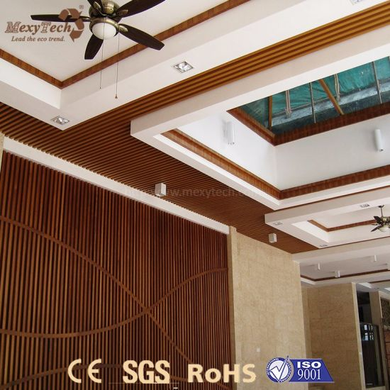 China Low Price Fast Installation Fireproof PVC Ceiling Designs .