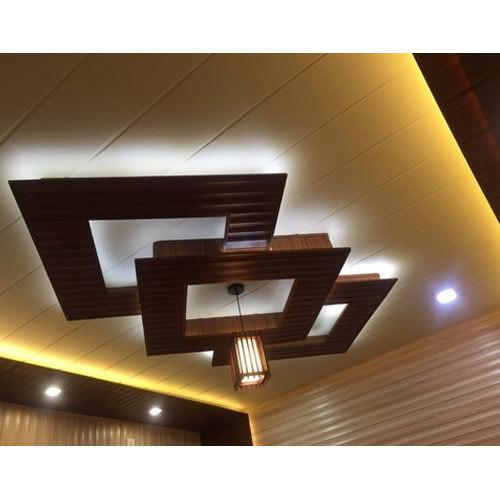 Designer PVC Ceiling Panel, Polyvinyl Chloride Ceiling Panel .