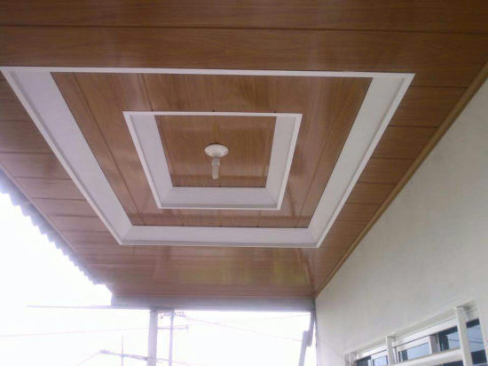 Cheaper Building Material for Interior Ceiling Decoration PVC .