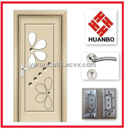 Modern design interior MDF wooden PVC doors from China .