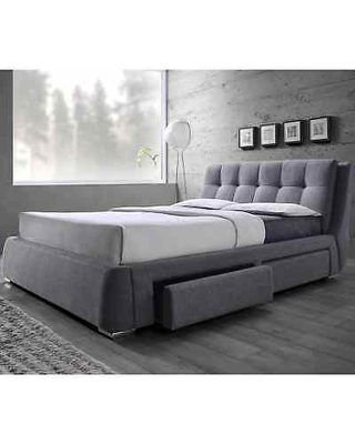 New Bargains on Tufted Design Upholstered Storage Bed with Pillow .