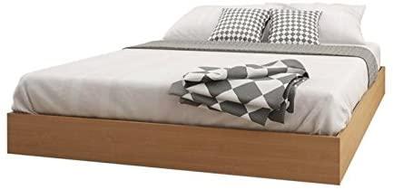 Amazon.com: Atlin Designs Queen Platform Bed in Maple: Kitchen .