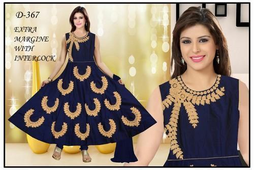 Plain Party Wear D Fancy Anarkali Suits, Rs 925 /piece K. Manya .