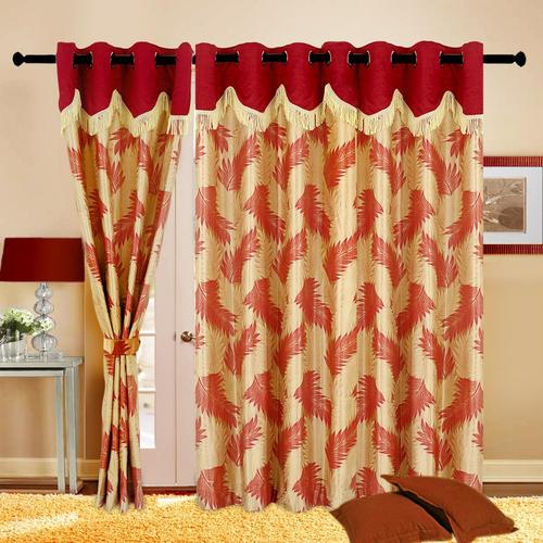 Polyester Readymade Curtains, पॉलिएस्टर परदा .