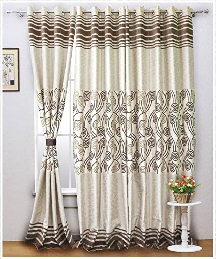 Buy Readymade Curtains Online at Low Prices in India - Amazon.