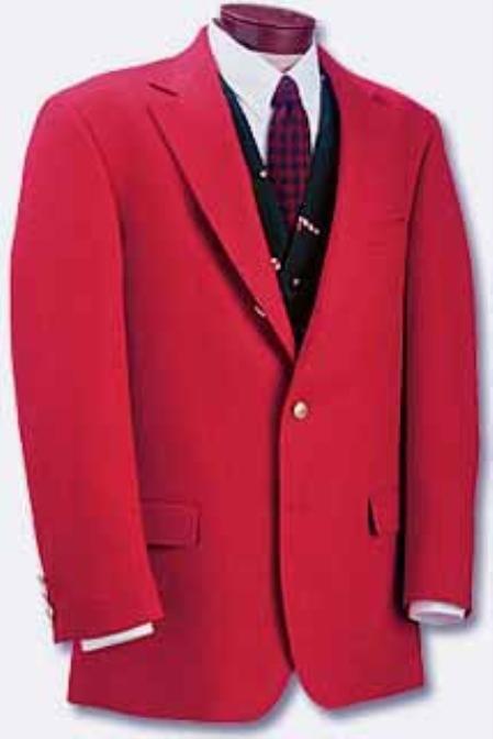 RED sport coats - RED blazers # 232