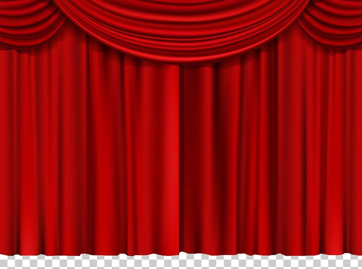 Theater Drapes And Stage Curtains Red Theatre Pattern PNG, Clipart .