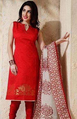 Latest Models of Red Salwar Kameez Designs That Look In Radia