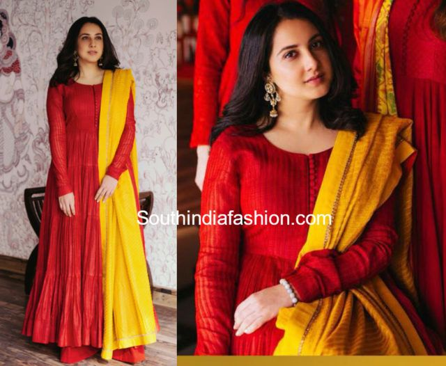 7 Stunning Traditional Anarkali Suit Designs by Gaurang Shah .